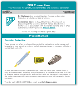 EPG Connection Newsletter