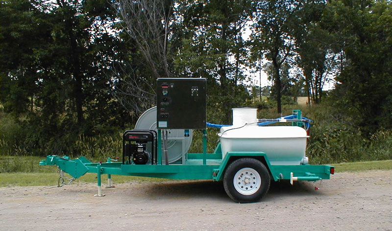 Portable Leachate Trailer