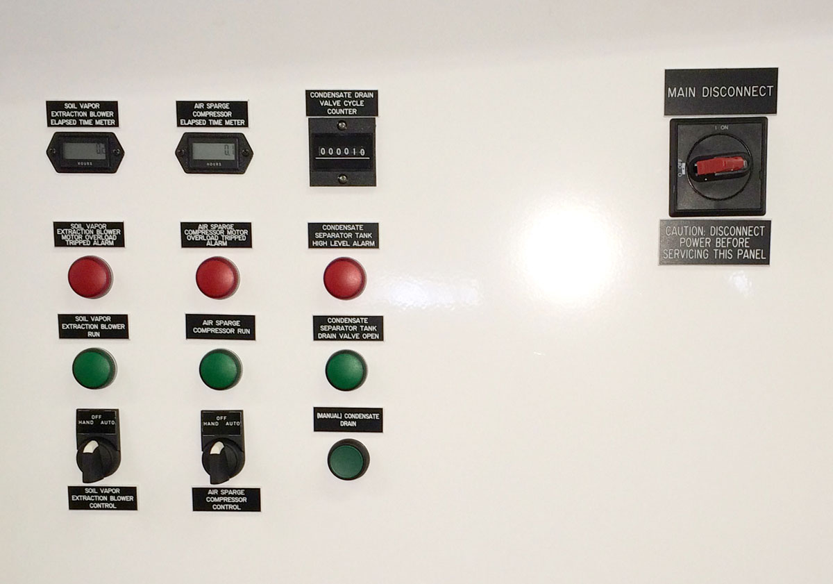 Remediation Control Panel