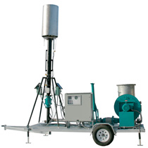 Biogas Flare - Trailer Mounted
