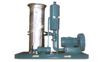 VES-RT7.5, vapor extraction system with regenerative blower and optional condensate pump and discharge silencer