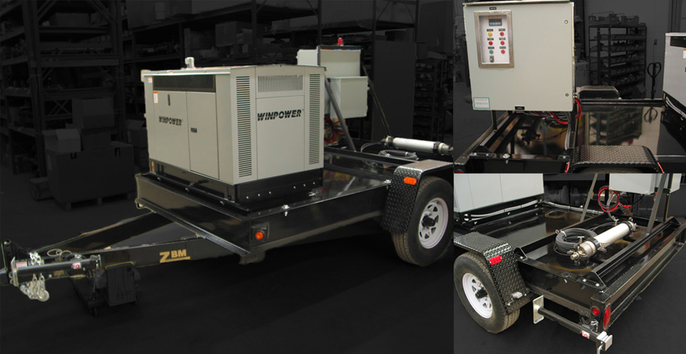 Leachate Pumping System Portable Leachate Trailers Epg
